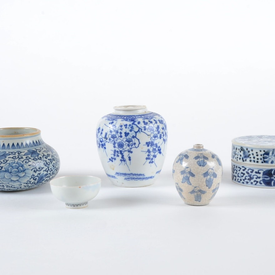 Assorted Group of Asian China