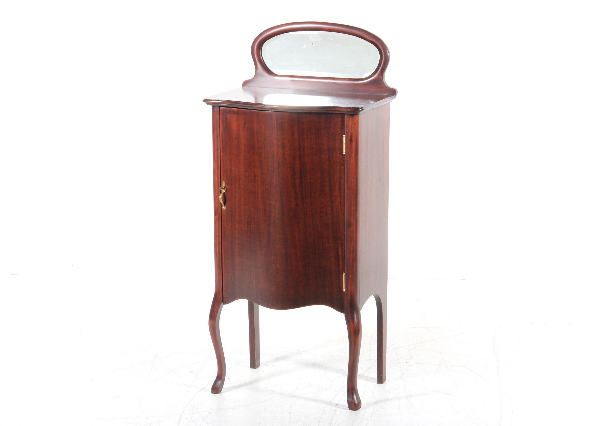 Vintage Larkin Mahogany Sheet Music Cabinet : EBTH