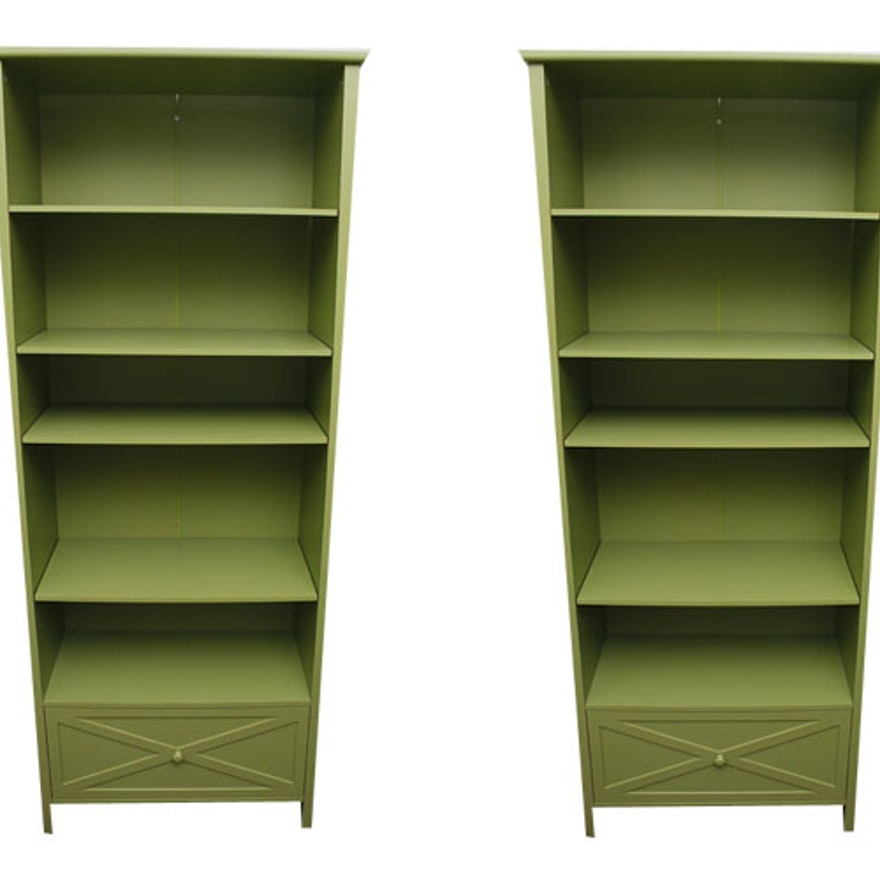 Awe Inspiring Green Composite Wood Bookshelves Download Free Architecture Designs Embacsunscenecom
