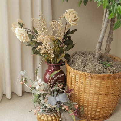 Decorative floral arrangements floral decor auctions in denver co decorative tree and silk flowers mightylinksfo