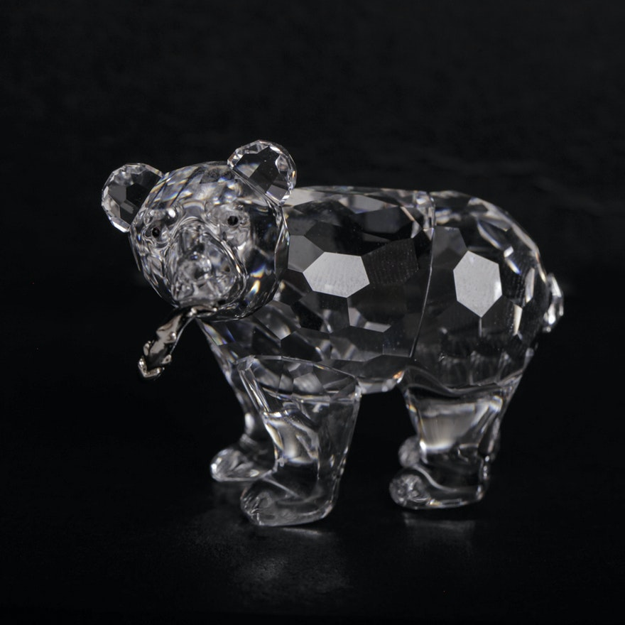 a4ddf48a0 Swarovski Crystal Bear Figurine : EBTH