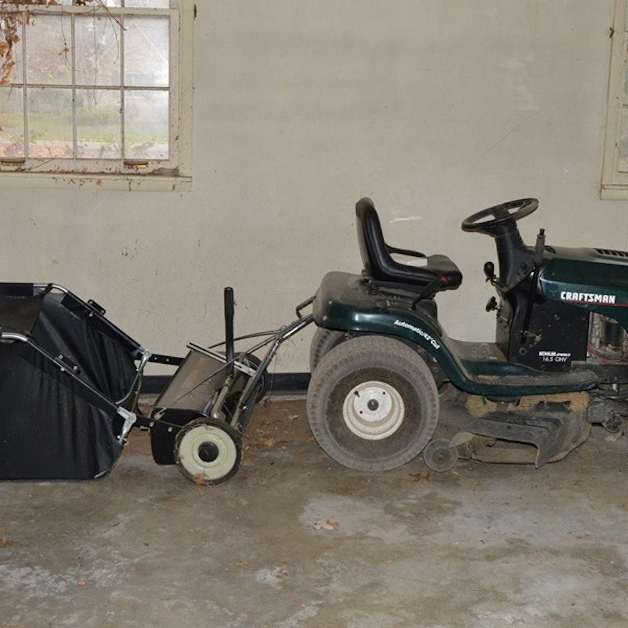 Craftsman Tractor With 16 5 Kohler Pro Ohv Engine