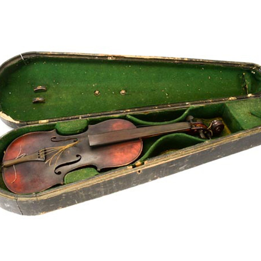 Circa 1890 3/4 Student Violin