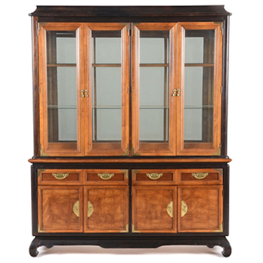 Broyhill Quot Ming Dynasty Quot China Cabinet Ebth