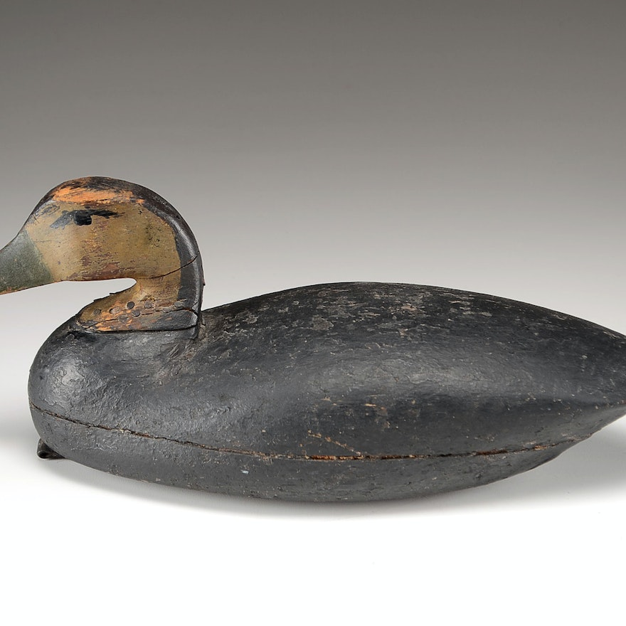 Rustic Hand Crafted Decoy Duck