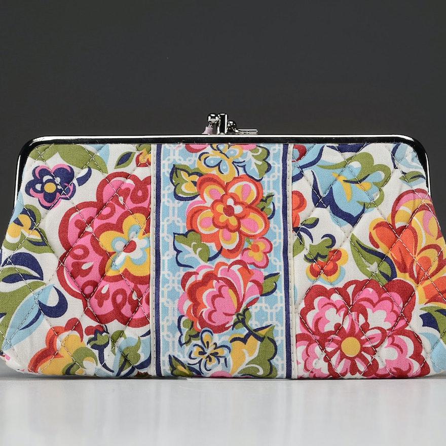 "Vera Bradley ""Hope Garden"" Clutch Wallet"