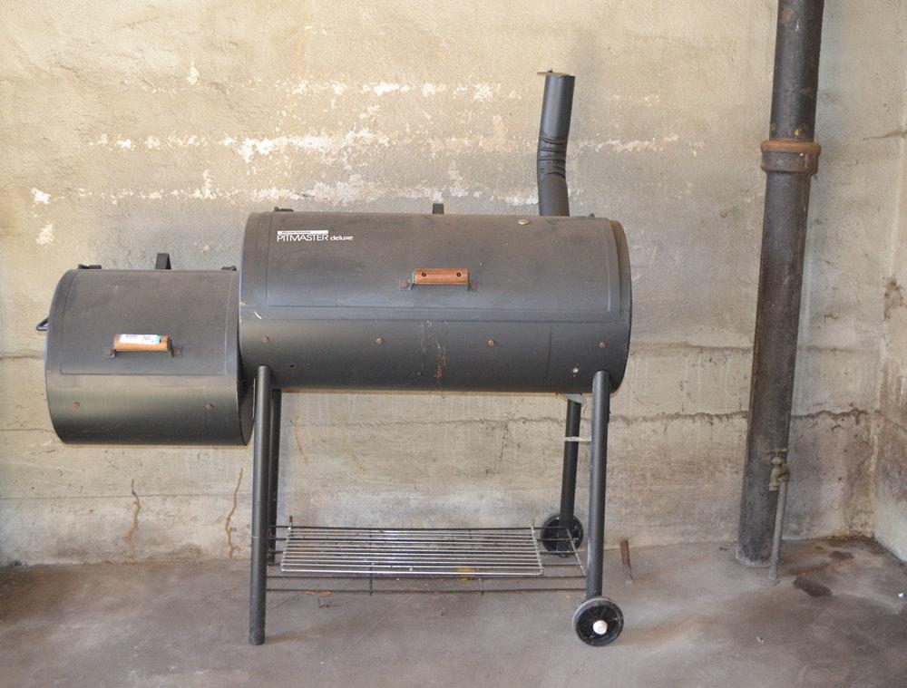 brinkmann pit master deluxe charcoal grill smoker ebth rh ebth com