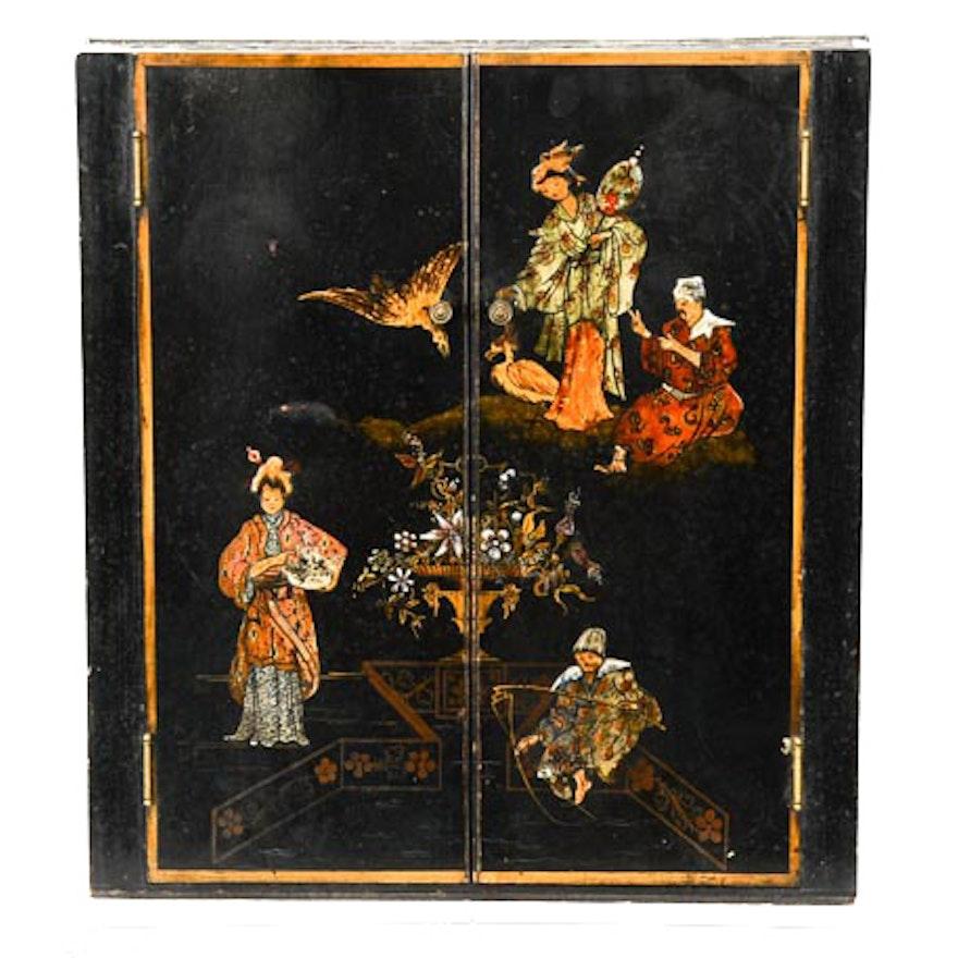 Oriental Decorated Cabinet Box