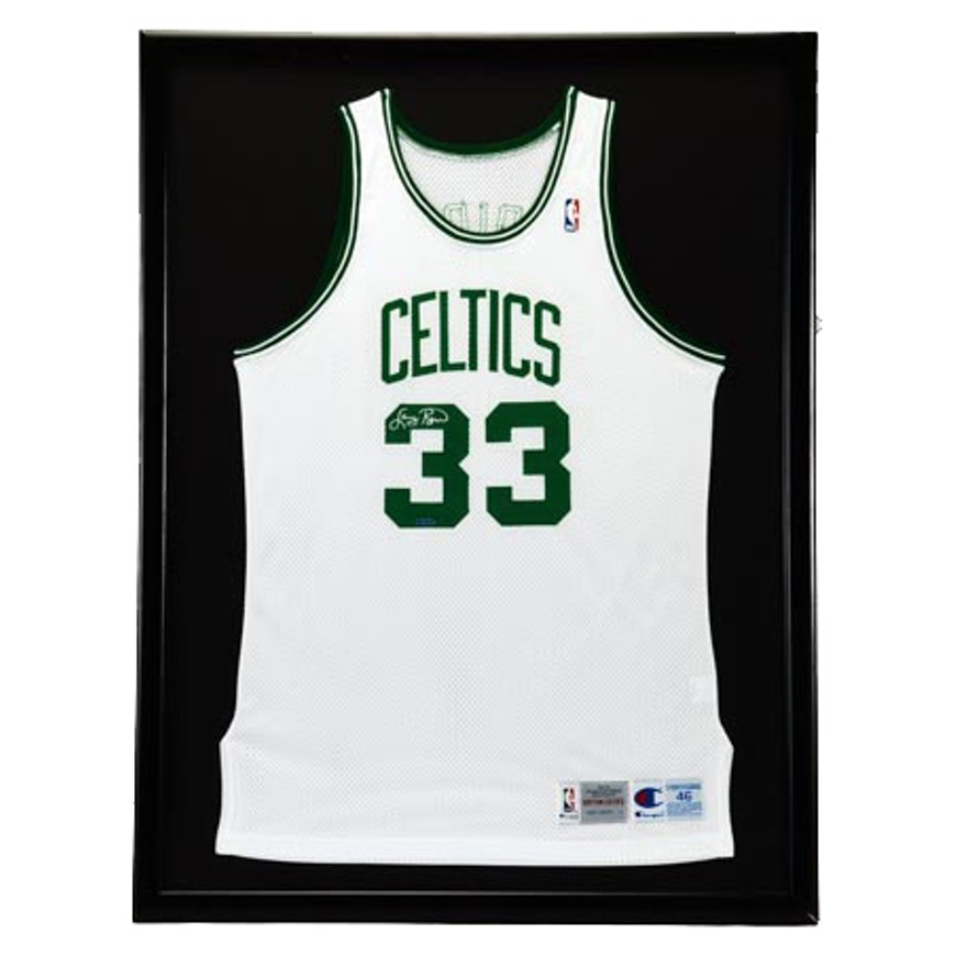 Larry Bird Signed Celtics Jersey  Upper Deck