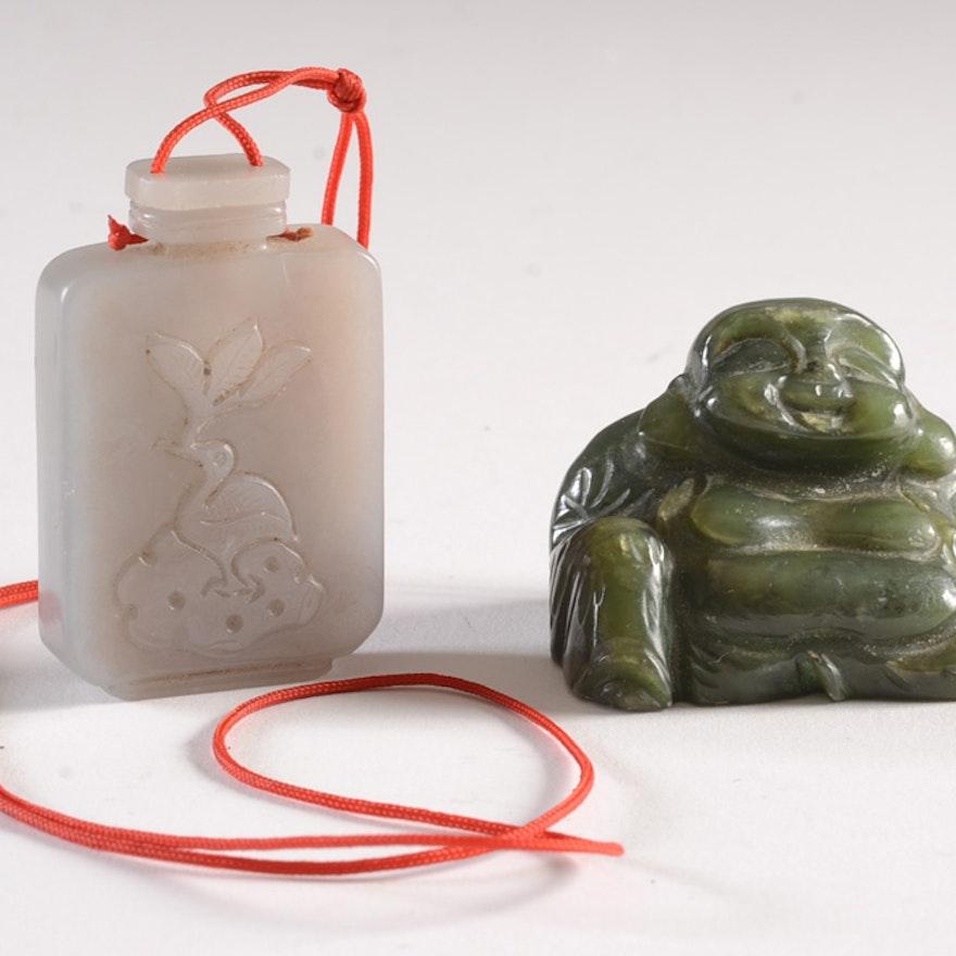 Pair of Vintage Chinese Pocket Items
