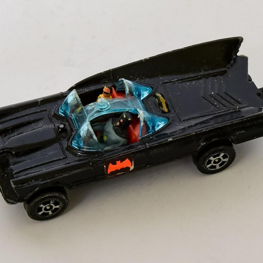 Vintage Die-Cast Batmobile by Corgi Juniors