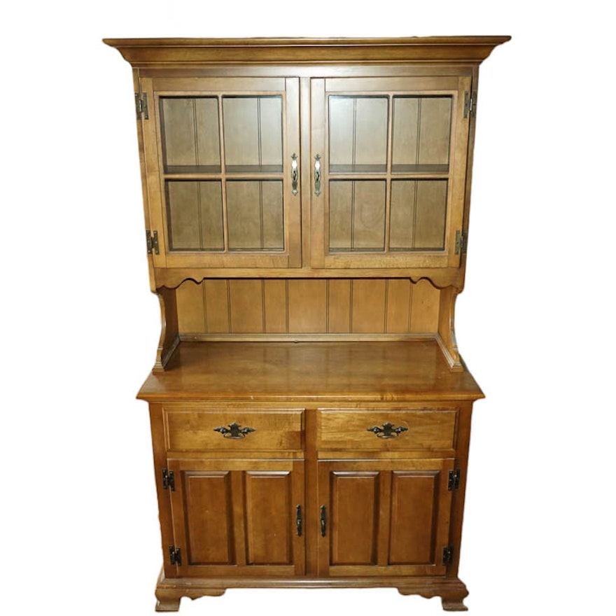 Maple China Cabinet By Keller Furniture Ebth