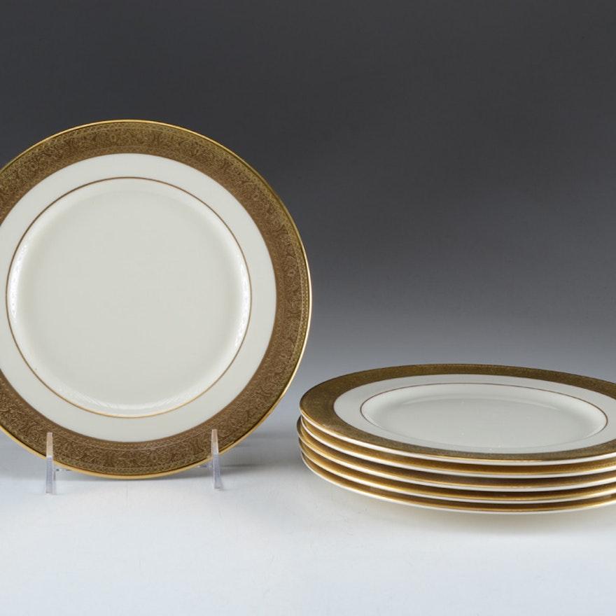 Set of Six Lenox Salad / Dessert Plates
