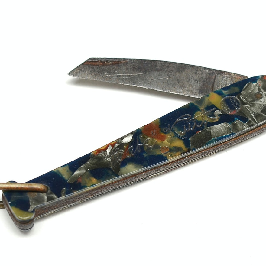 Vintage Babe Ruth Endorsed Pocket Knife