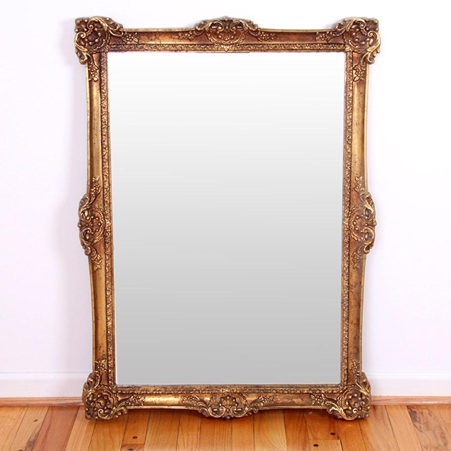 Carolina Mirror Company Ornately Framed Mirror : EBTH