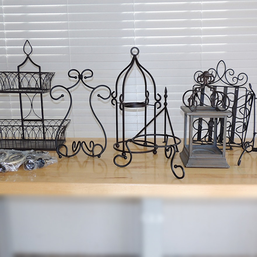 Southern Living At Home Wrought Iron Decor Ebth