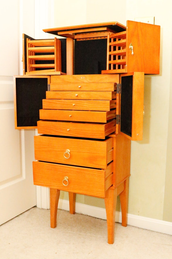 """Lori Greiner """"For Your Ease Only"""" Jewelry Armoire 