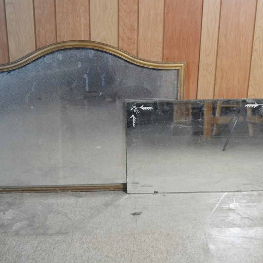 Two Vinatge Mirrors