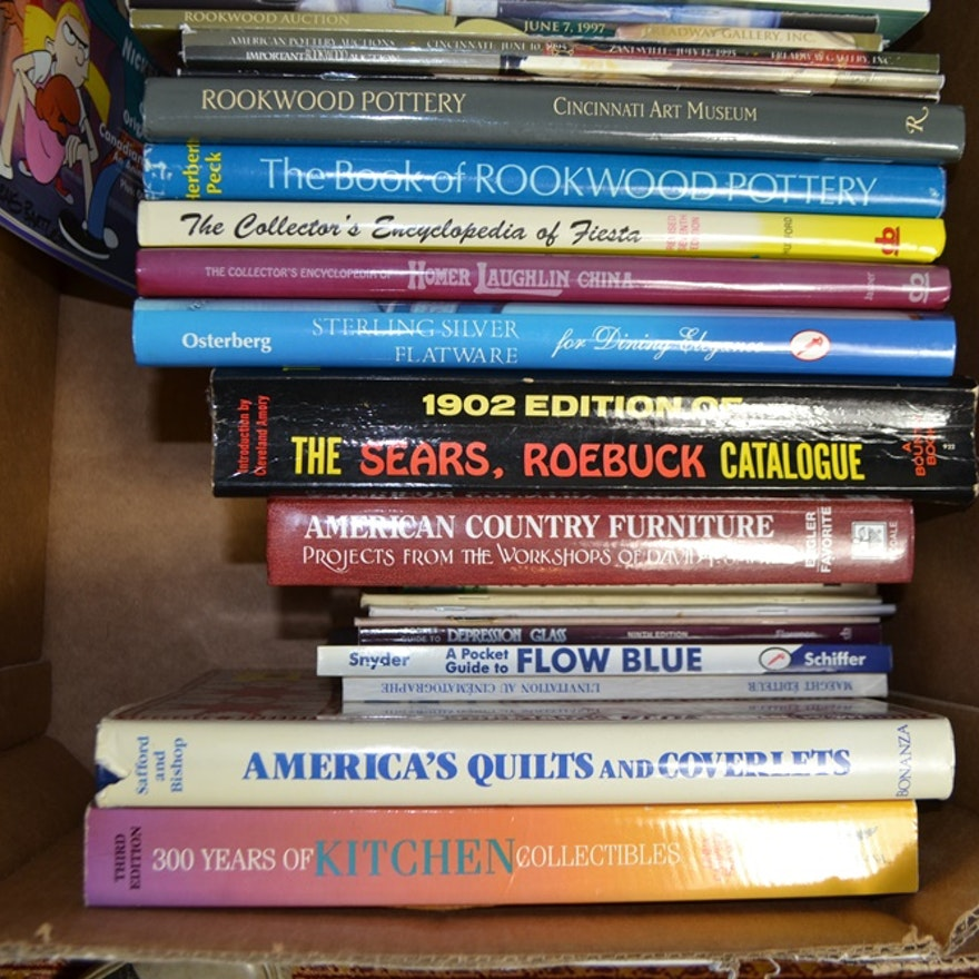 Books About Antiques & Collectibles, Chicago, & Interior Design