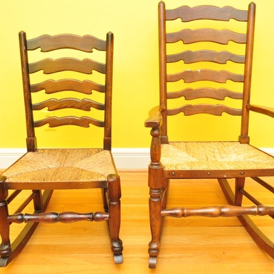 Vintage chairs antique chairs and retro chairs auction in glasgow ky antiques sterling silver - Automatic rocking chair for adults ...