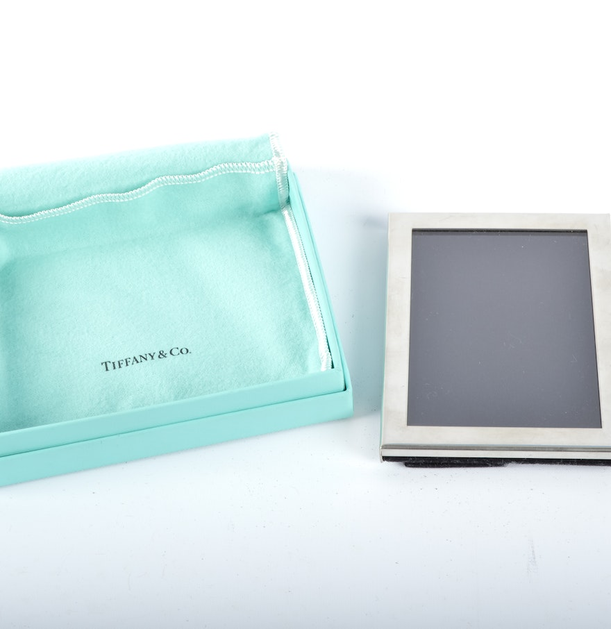 tiffany and co pewter picture frame 1x1