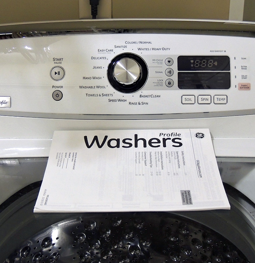 Harmony Washer And Dryer Ge Profile He Harmony Top Load Washer Ebth