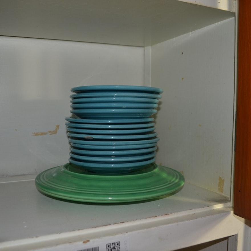 Fiestaware & Homer Laughlin Duraprint Pieces