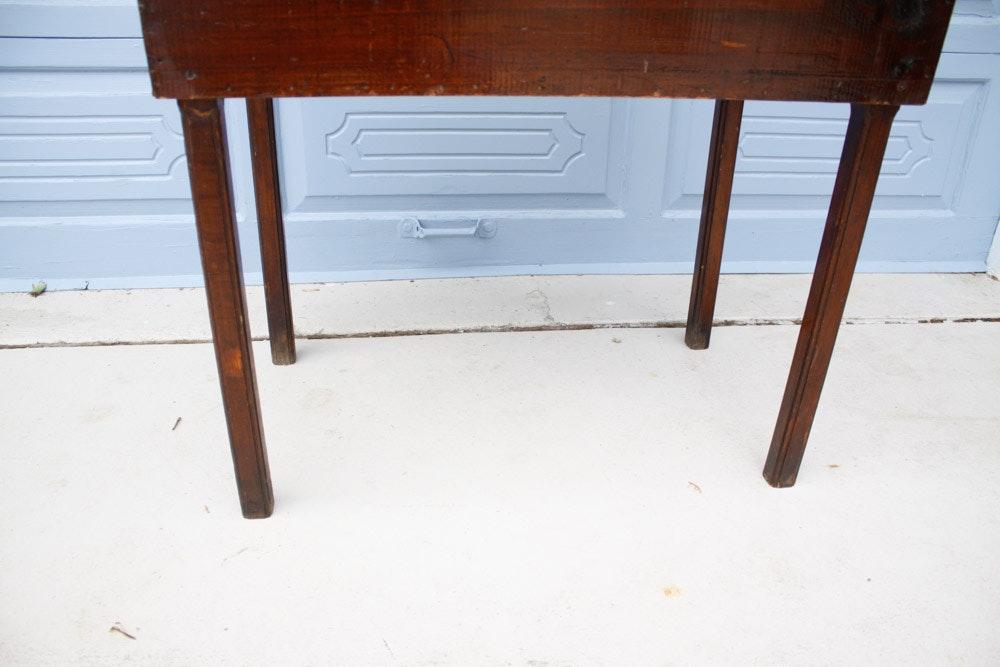 Primitive Lift Top Slant Desk Ebth