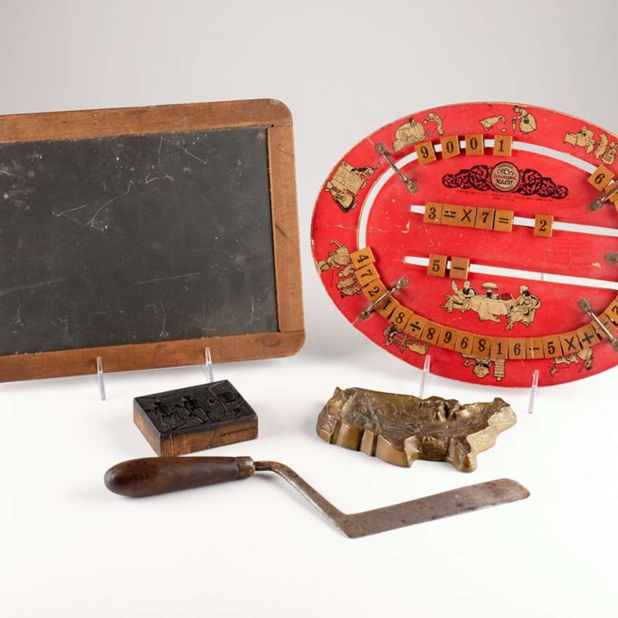 Vintage Chalk Board, Cress Educational Board and More