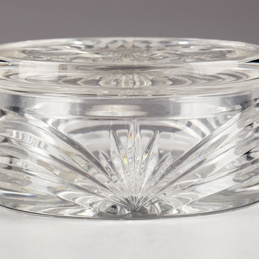 """Marquis by Waterford """"Calais"""" Crystal Lidded Box"""