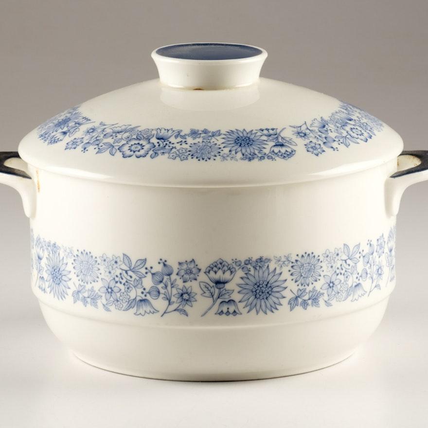 "Royal Doulton ""Cranbourne"" Covered Casserole Dish"