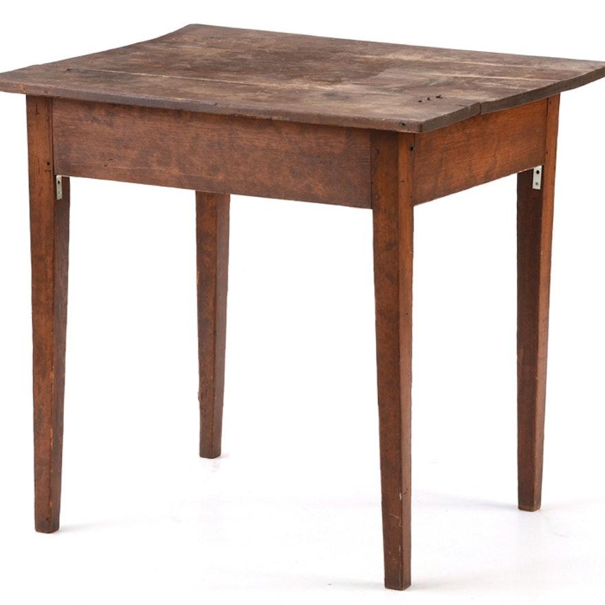 19th Century Pine Table