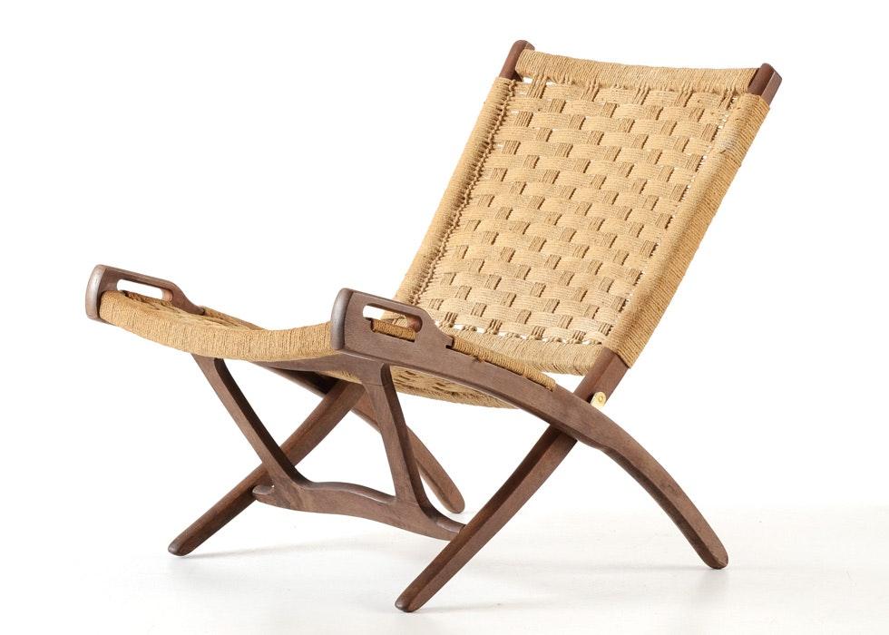 Mid Century Modern Yugoslavian Folding Chair ...