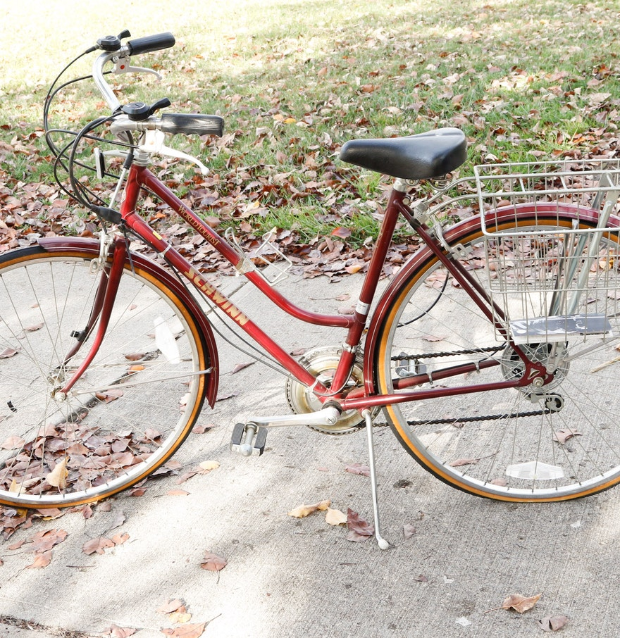 Vintage Schwinn World Tourist Bicycle Ebth