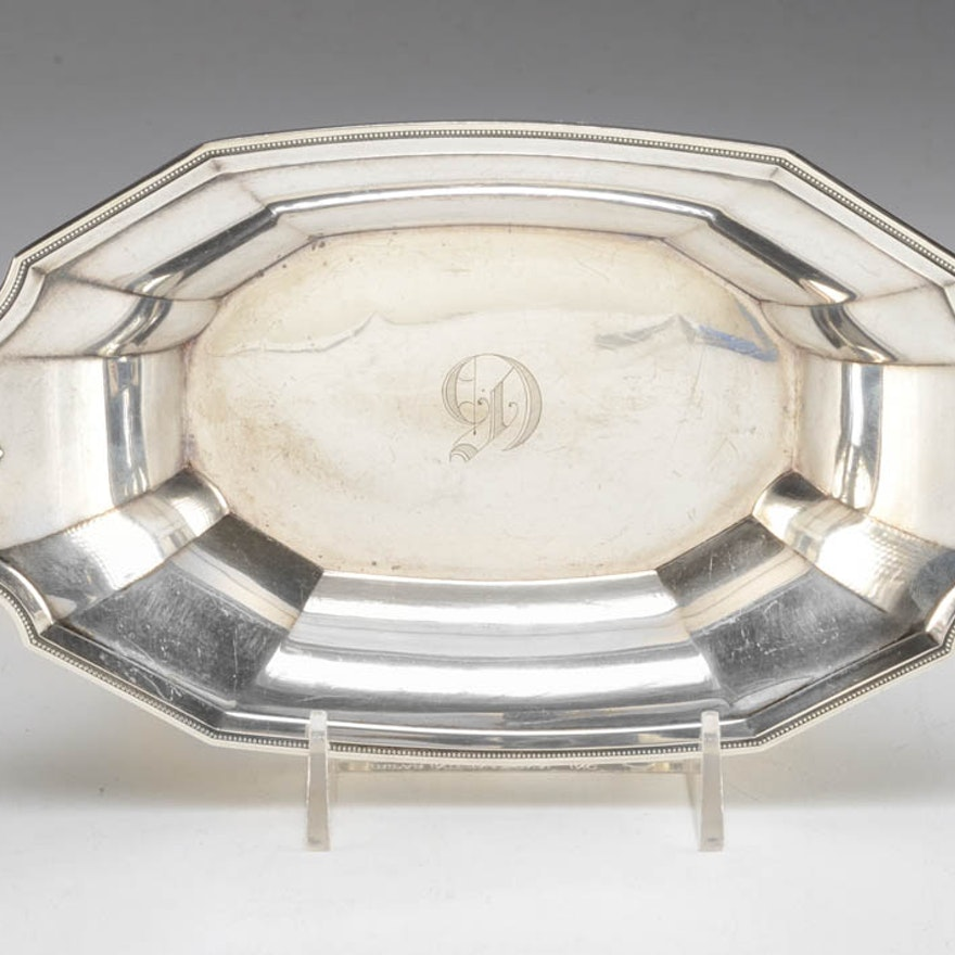 Sterling Nut Dish by Whiting Manufacturing Company