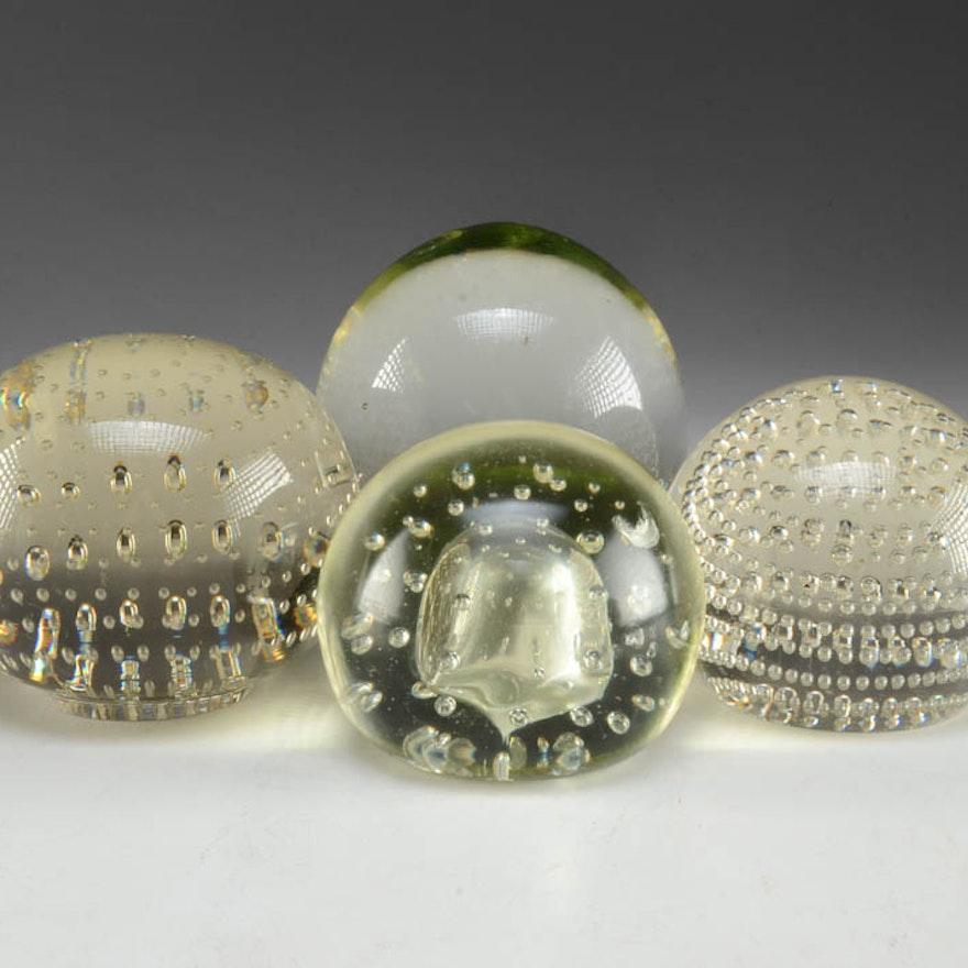 Czechoslovakian Art Glass Paperweight