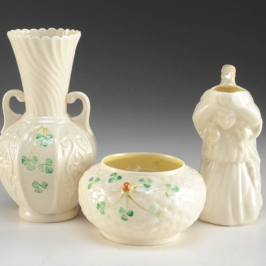 Belleek Porcelain Pieces