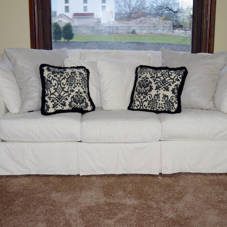 Arhaus Baldwin Slipcovered Sofa