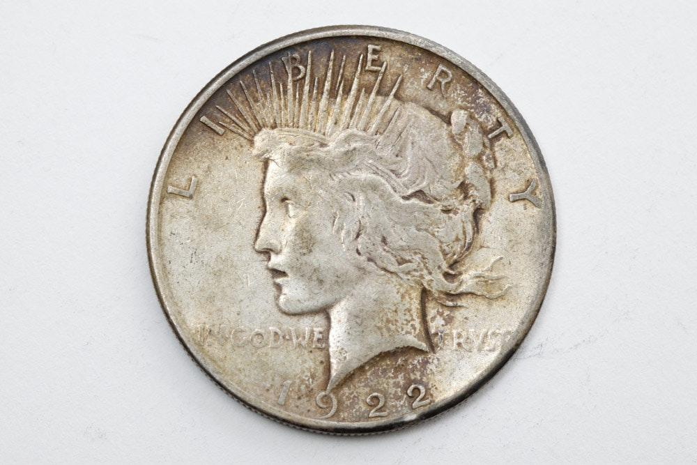 Group Of Nine Silver Dollars Ebth