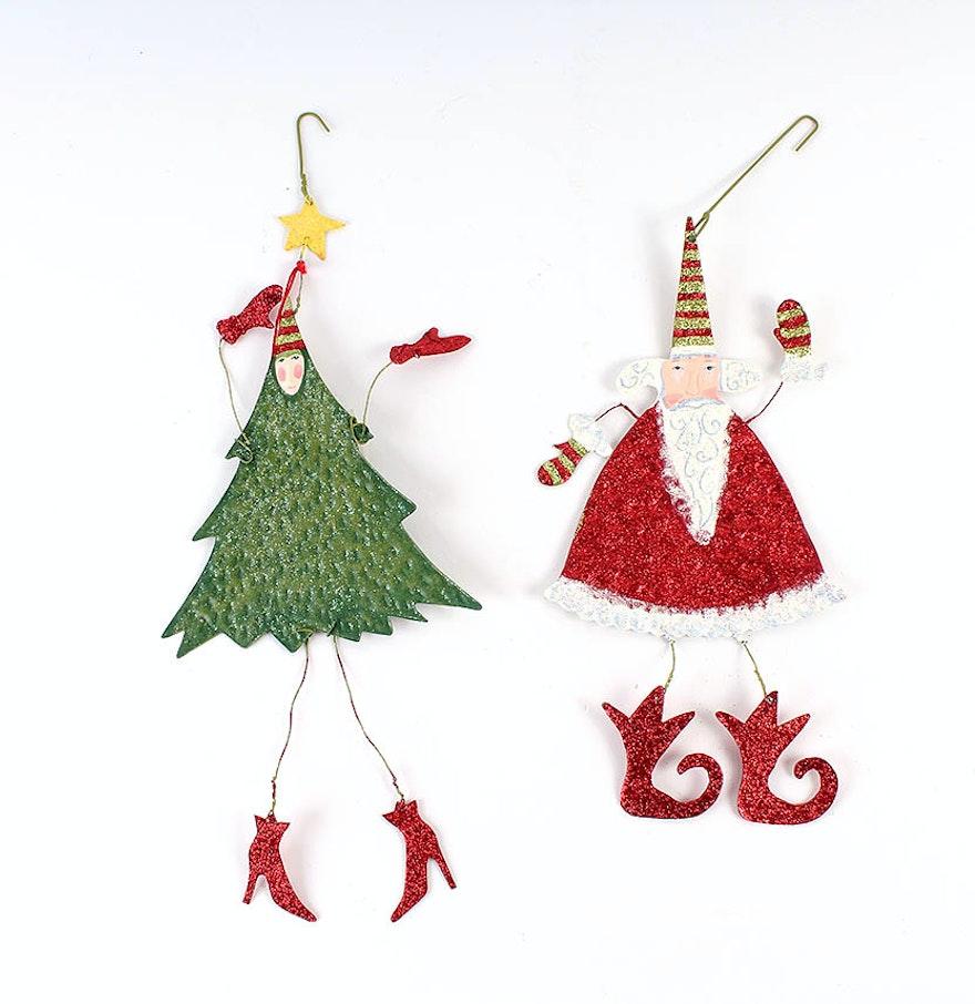Department flat metal ornaments ebth