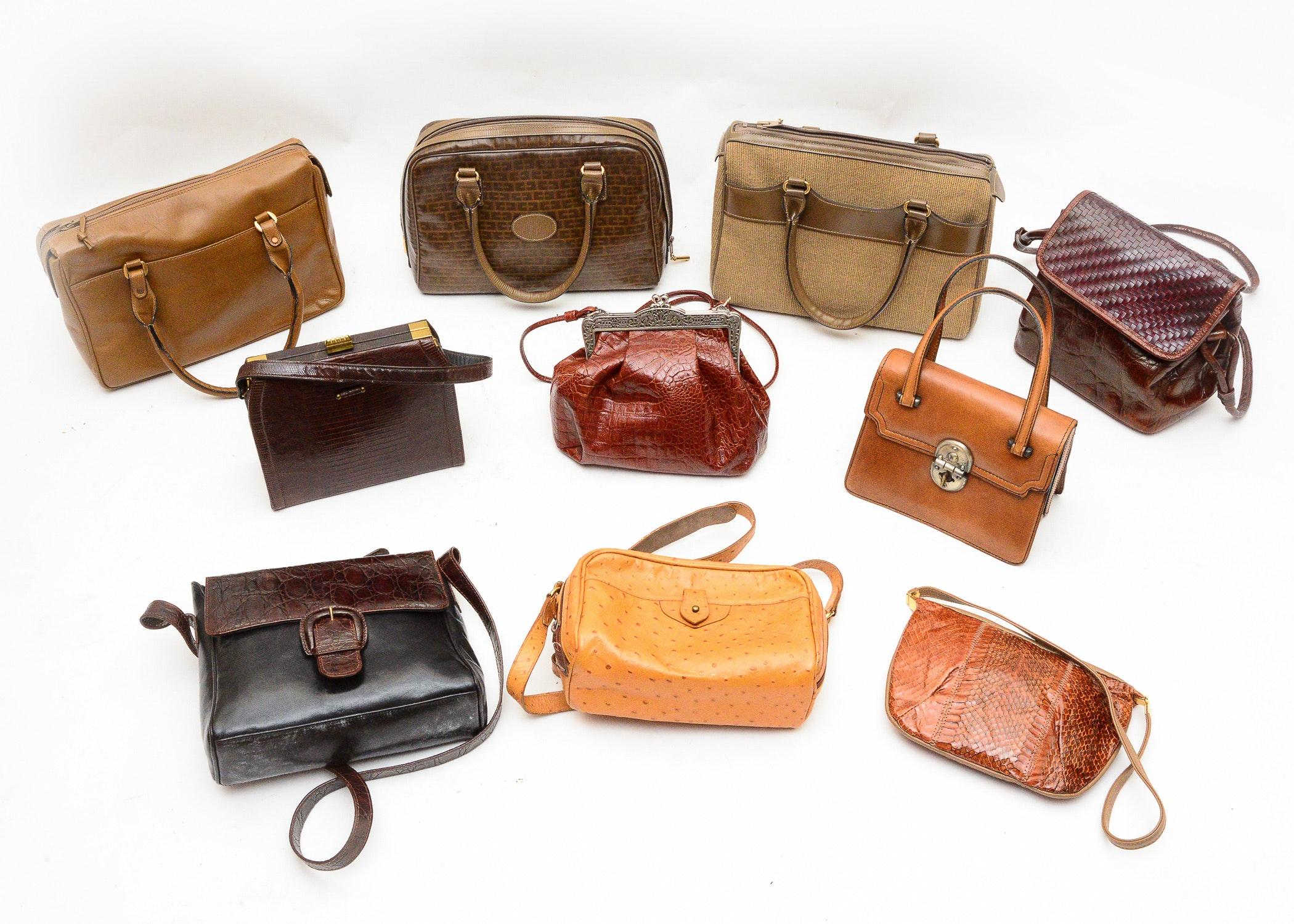 Brown Vintage Purses