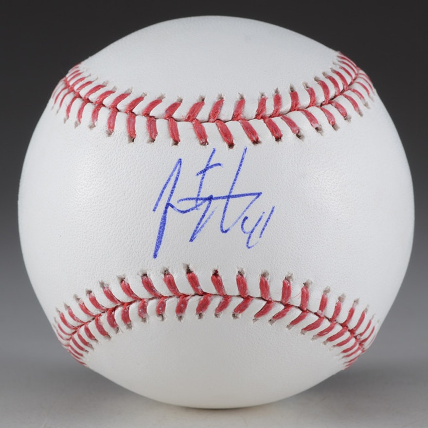 Jeremy Affeldt Signed 2010 World Series Baseball