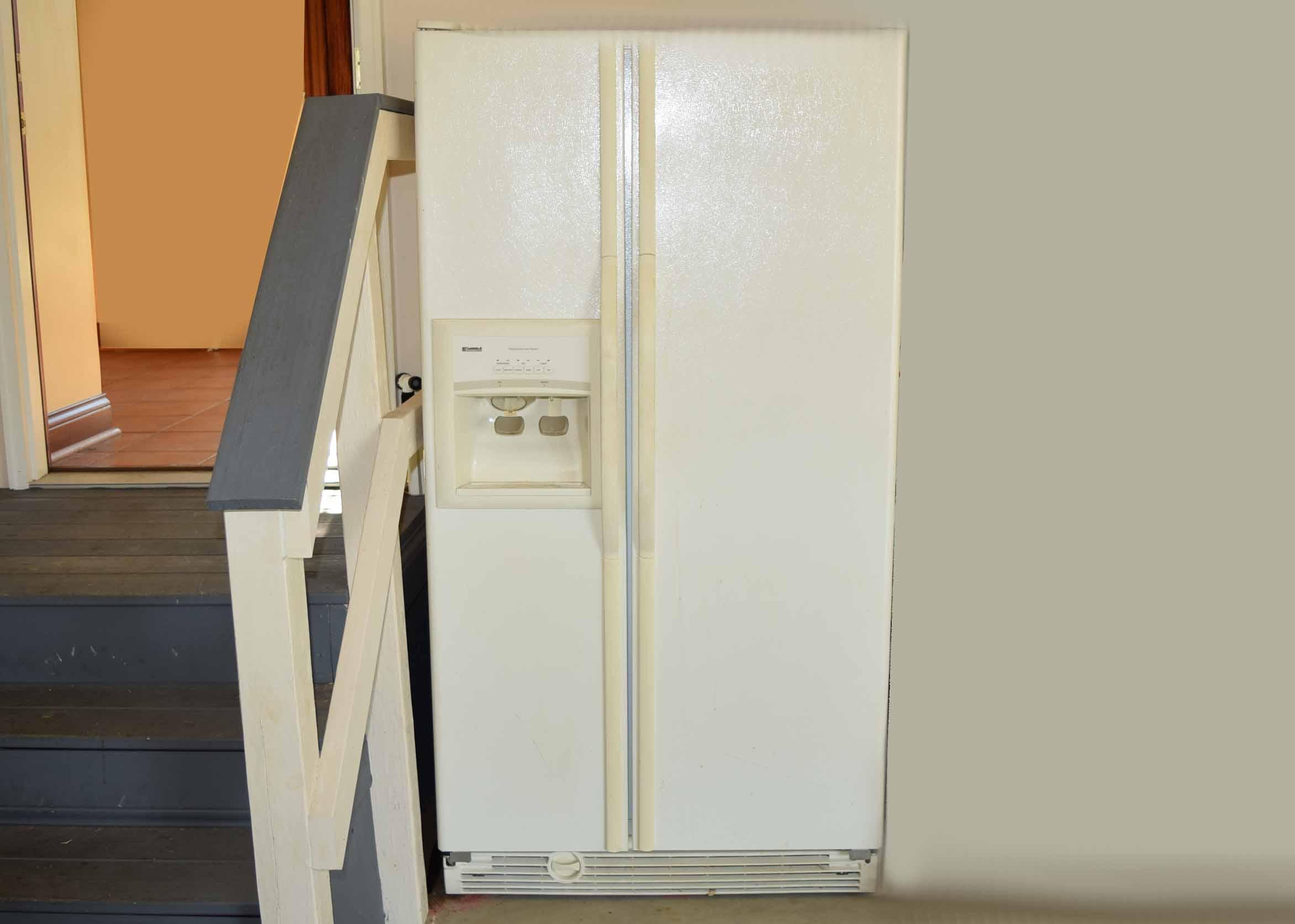 kenmore coldspot refrigerator. kenmore coldspot side-by-side refrigerator-freezer refrigerator