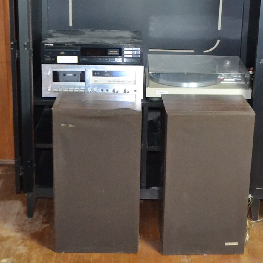 Pioneer Stereo Components