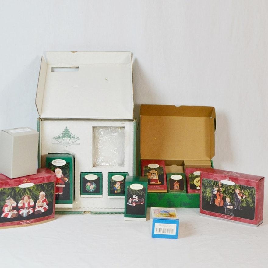 Hallmark Keepsake Ornaments 1996 & 1997 Membership Kits & More