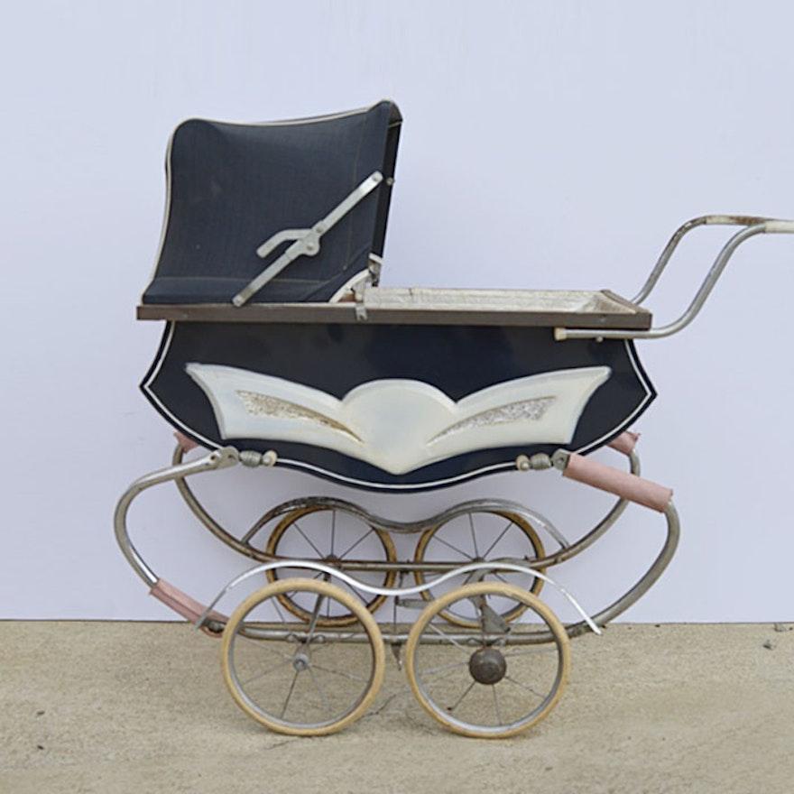 1950s Baby Pram EBTH