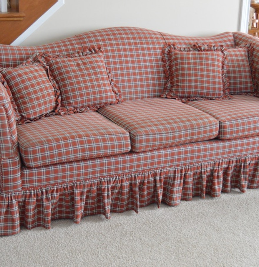 Laine Early American Style Sofa Ebth