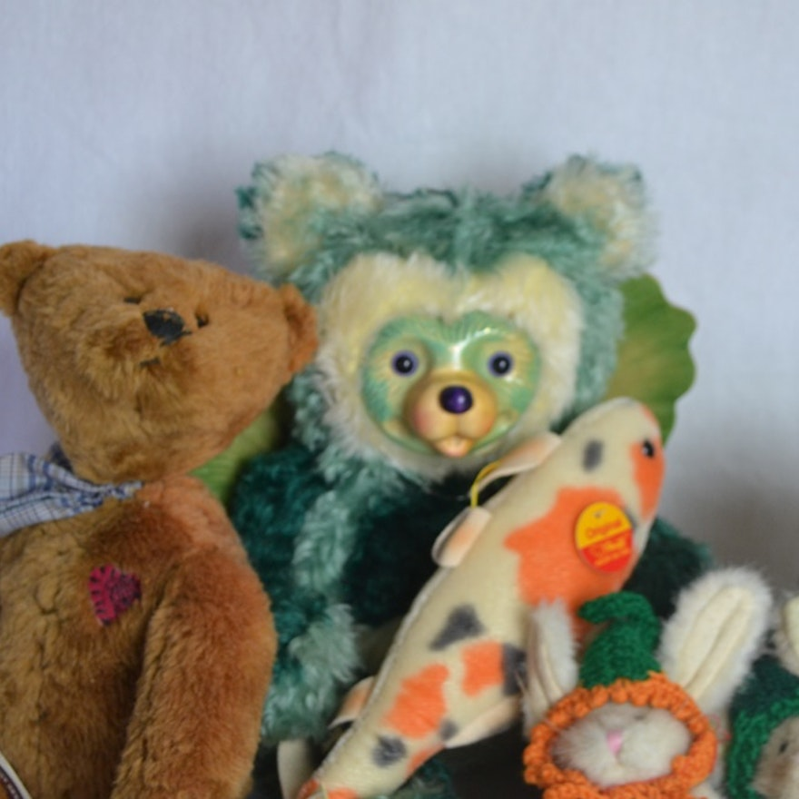 Steiff & Boyd's Collectible Plush Bears