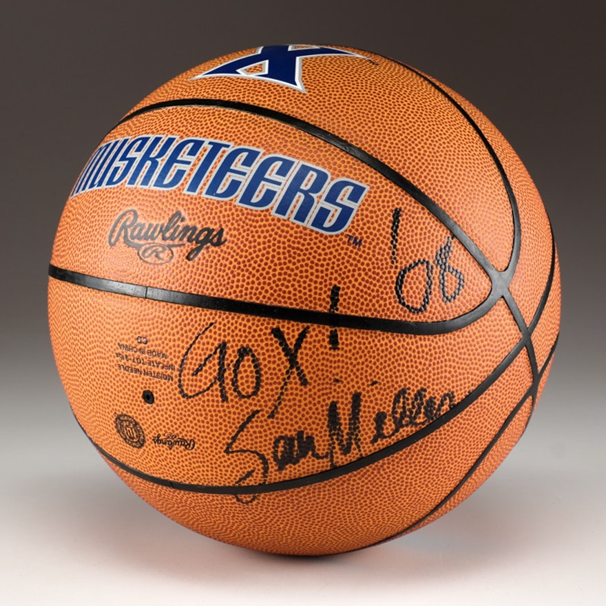 Sean Miller Signed Xavier Basketball with Case