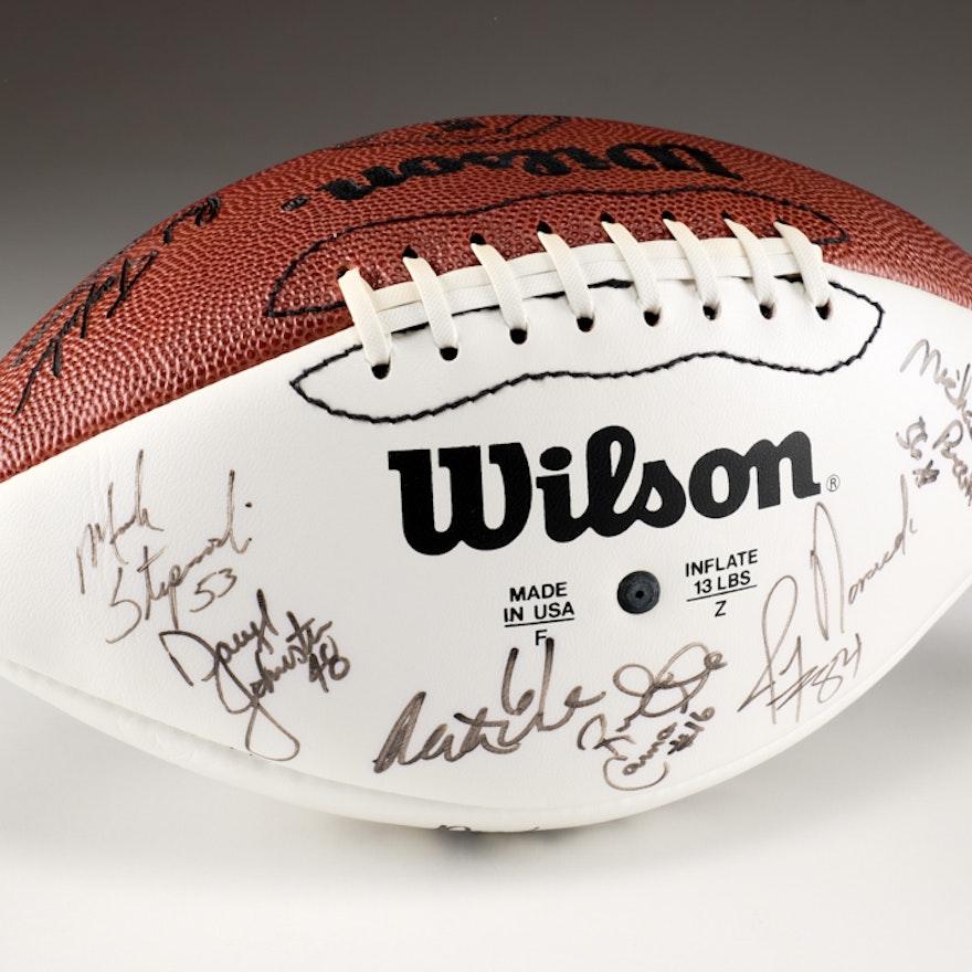 1993 Pro Bowl Signed Football